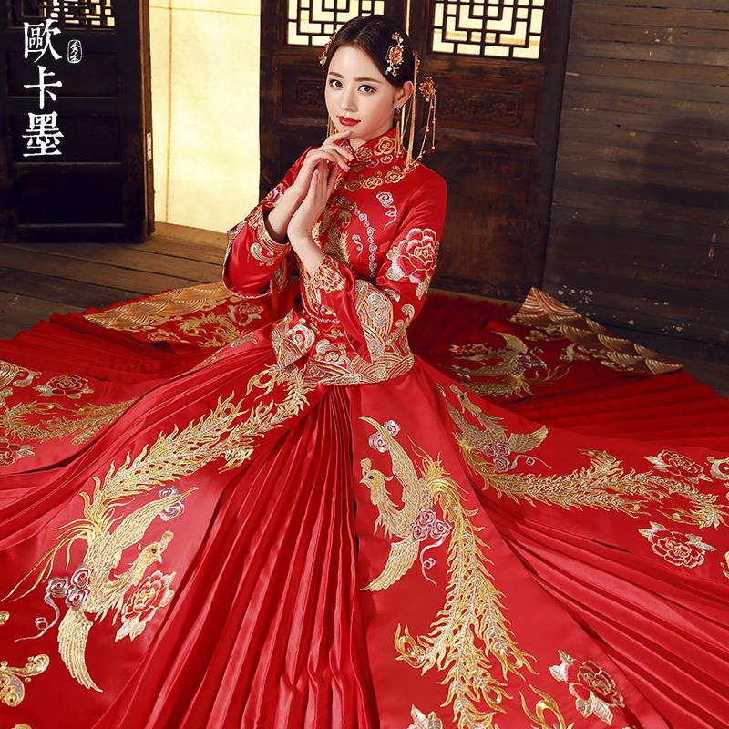 欧卡墨1732新娘礼服