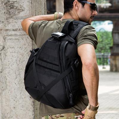 单肩包男运动休闲户外迷彩三角大容量骑行背包旅行战术军迷斜挎包