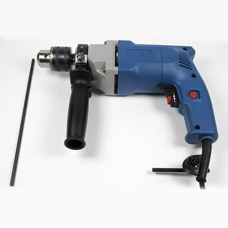 东成电钻J1Z-FF02-13 电动工具家用正反转手电钻 可调速电动钻
