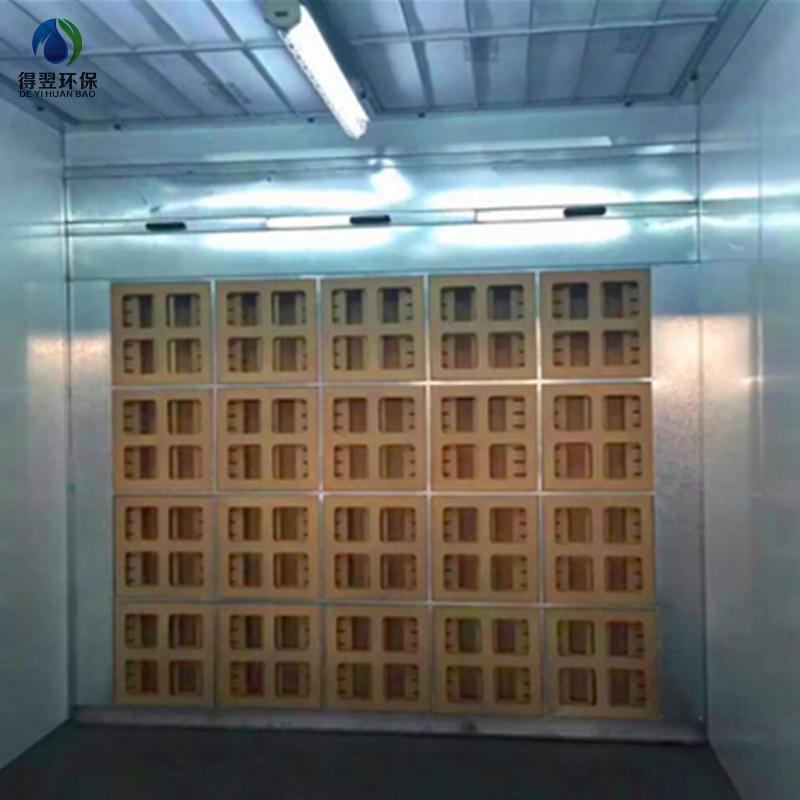 厂家热销阻燃迷宫干式油漆过滤箱空气过滤器喷漆房漆雾吸附纸箱