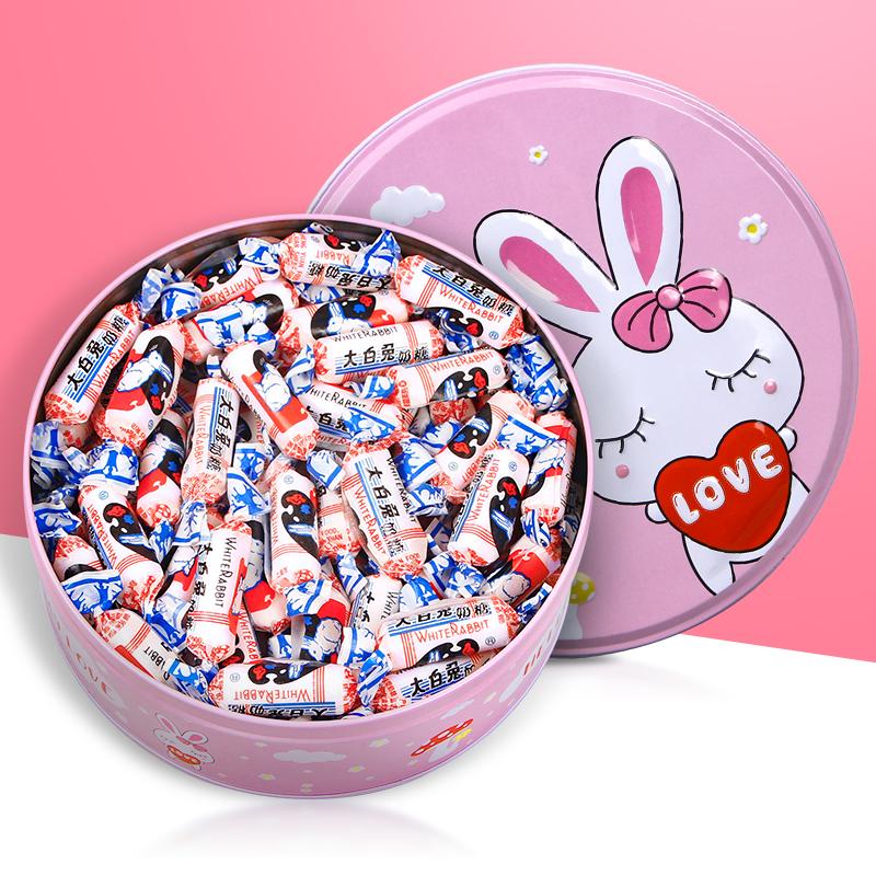 上海特产冠生园大白兔奶糖500g/227g/114g喜糖年货节小食六一儿童