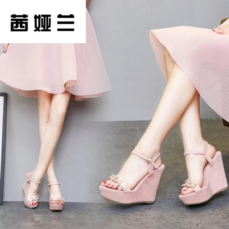 女上坡跟鞋