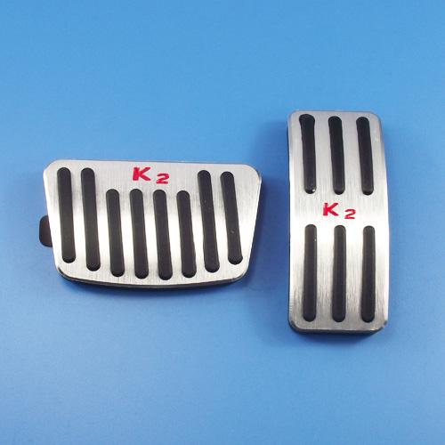 起亞K2專用金屬鋁合金改裝免打孔油門踏板加油剎車休息防滑腳踏板