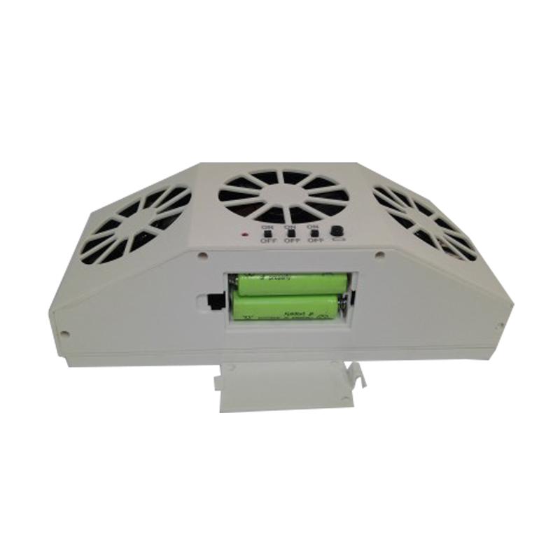 汽车车载用太阳能排气扇散热扇换气扇抽风车内循环降温器除热排热