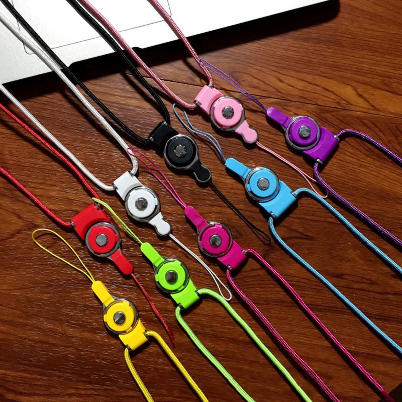 手机挂绳苹果手机壳挂脖绳二段式绳子可拆卸手绳胸牌钥匙扣长短绳