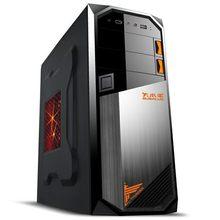 大水牛 雷霆机箱 台式电脑主机游戏标准机箱 上置电源USB3.0空箱