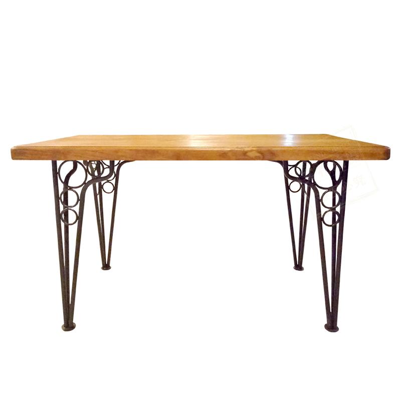 胡桃里家具定制音乐餐吧繁花酒吧漫咖啡厅复古主题餐厅实木餐桌椅