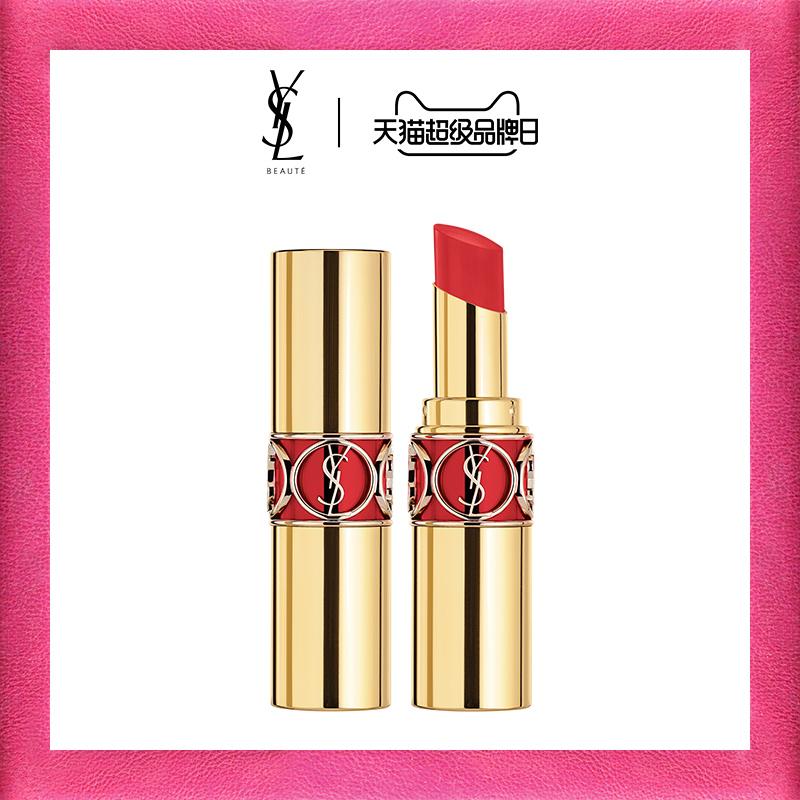 预售 YSL圣罗兰莹亮纯魅唇膏圆管新色烂番茄色80复古红83口红正品图片