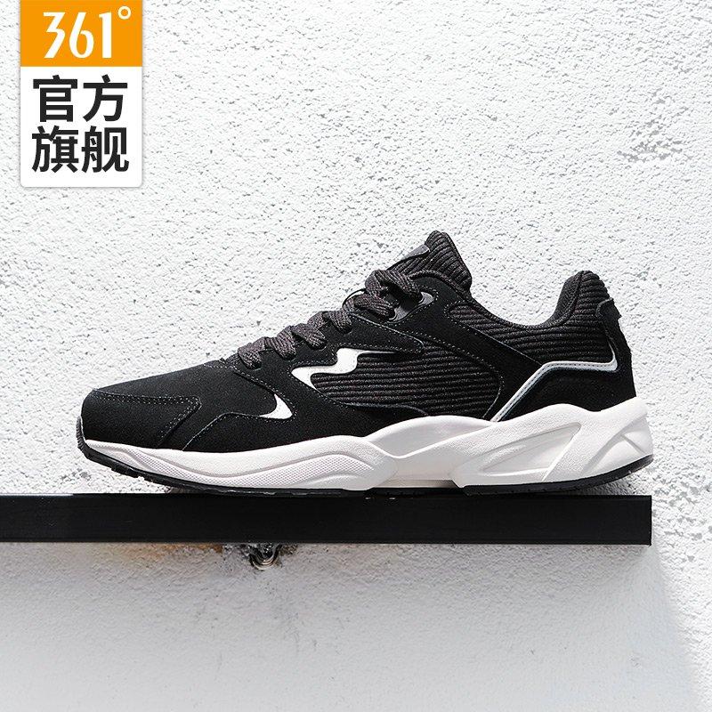 361男鞋运动鞋2018秋季新品361度官方正品运动鞋男跑步鞋保暖透气