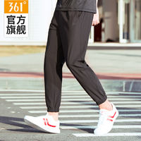 361 sports pants men's summer thin section closing feet trousers couple loose breathable pants casual nine pants men z