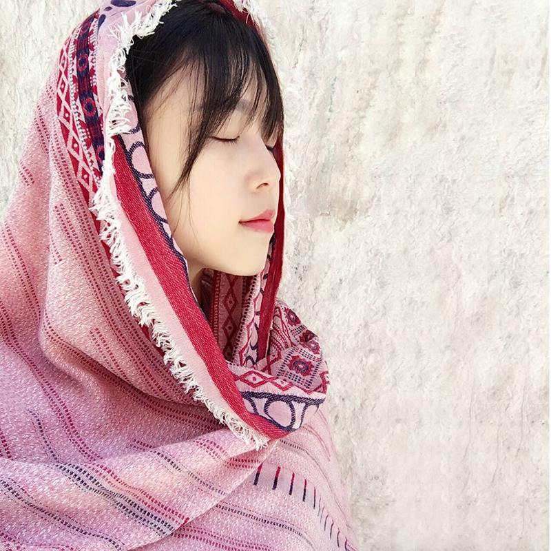 Женские шарфы из хлопка Артикул 536594596996