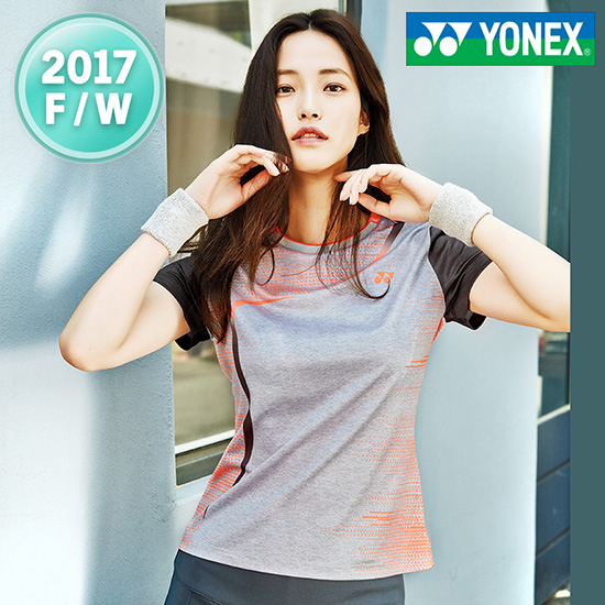 2017秋冬新品韩国YONEX羽毛球服女子YY短袖速干尤尼克斯T恤正品