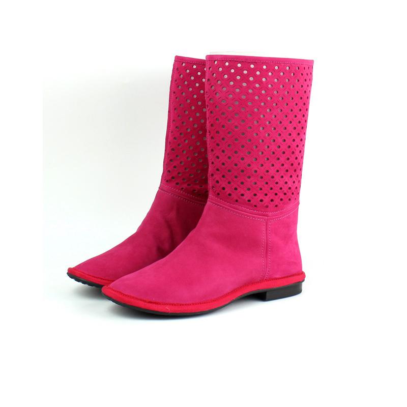 大码时尚女靴中筒