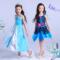 叶罗丽娃娃衣服连衣裙 儿童齐娜冰公主服装 夜萝莉女童公主裙套装
