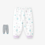 British children's home pajama pants Men's and women's treasures pajama pants children's autumn pants home pants 189B7510