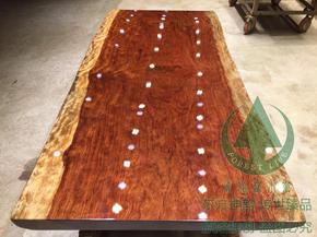 红木家具实木大板巴西花梨餐桌会议桌原木老板办公桌茶台茶几现货