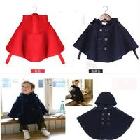 Baby cloak spring and autumn children's cloak autumn and winter out of the baby girl shawl boy jacket