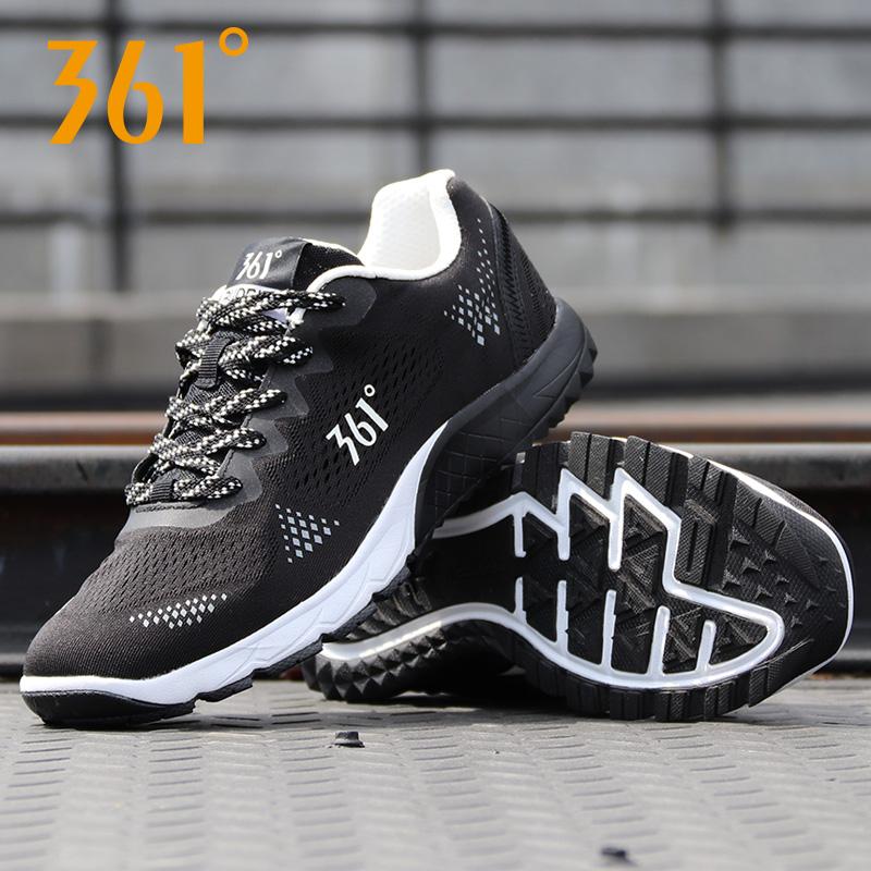 361运动鞋2018新款网面透气休闲鞋学生正品秋冬季男子跑步鞋男鞋