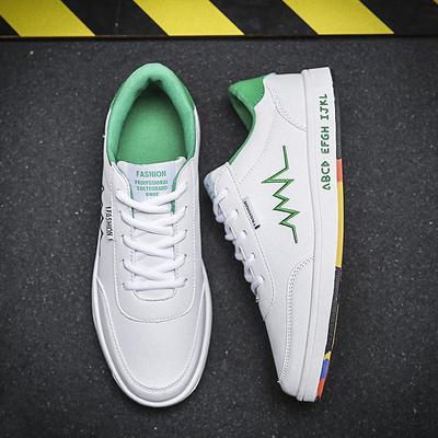 小白鞋男春季2018新款百搭男款鞋子韩版男士白色板鞋白鞋休闲潮鞋