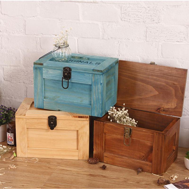 储物盒木制大