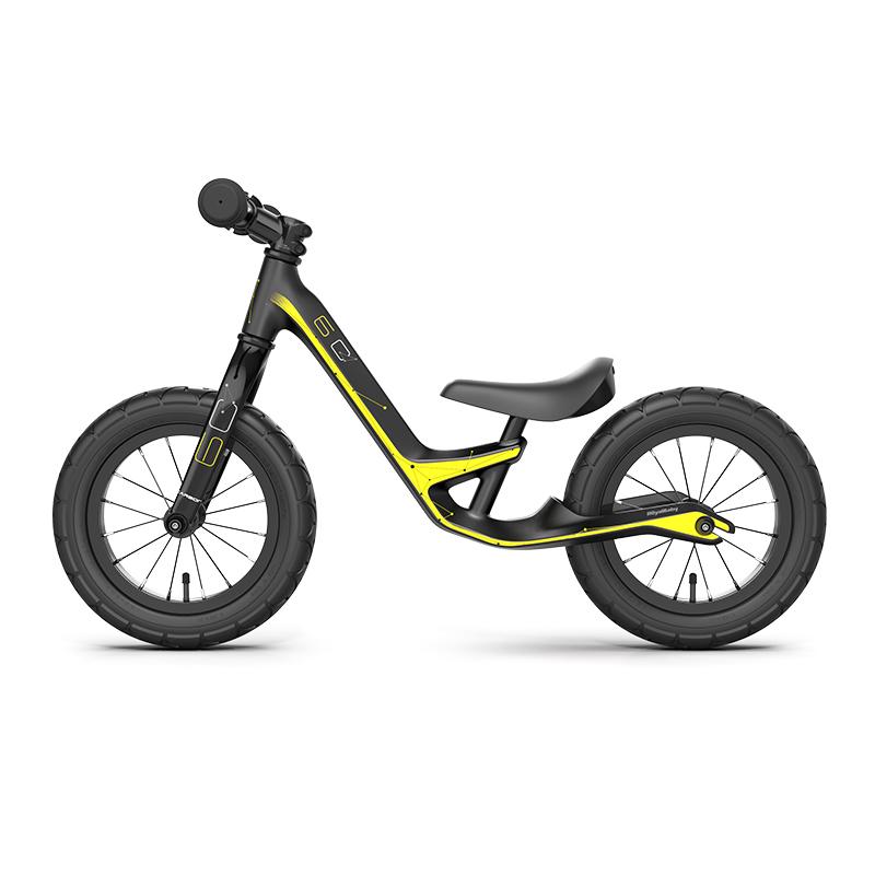 优贝碳纤维2-3-6岁儿童平衡车滑步车宝宝/小孩玩具溜溜车滑行学步