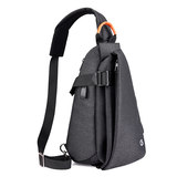 Noguel camera bag simple shoulder small SLR camera bag diagonal bag men and women lightweight triangle light backpack