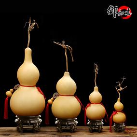 天然葫芦挂件风水大葫芦摆件家居饰品文玩手捻小把件车挂饰酒葫芦