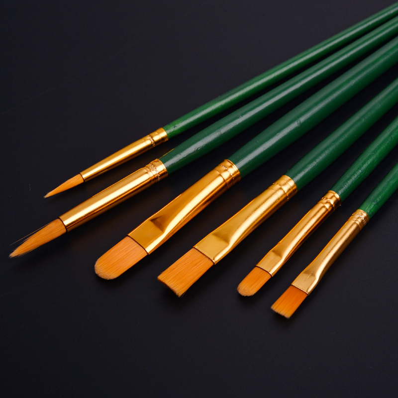 特价尼龙毛排笔刷子画笔丙烯水粉水彩颜料笔刷套装油画刷