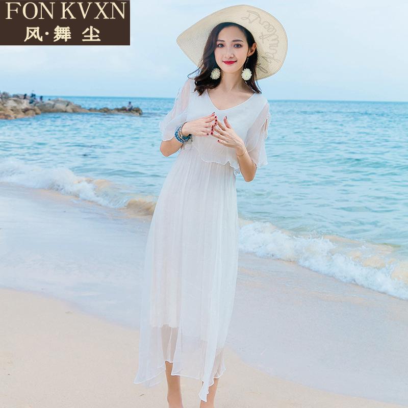 波斯米亚沙滩裙