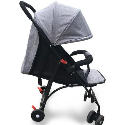 日本购新生婴儿推车超轻便携式可坐可躺折叠婴幼儿童四轮简易宝宝