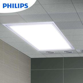 飞利浦集成吊顶灯led平板灯面板灯嵌入式铝扣板感应厨卫灯300 600