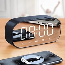 七彩灯便携无线手机迷你闪光小音响户外创意低音炮充电蓝牙音箱