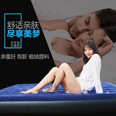 内置电泵双层自动充气床双人家用帐篷气垫床折叠床单人加厚车震床