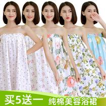 日式白色浴衣和服男女美容院賓館浴袍五星級酒店專用棉加厚睡衣