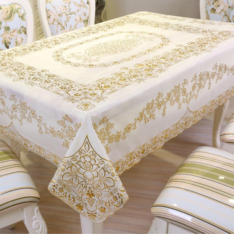 烫金垫餐桌布