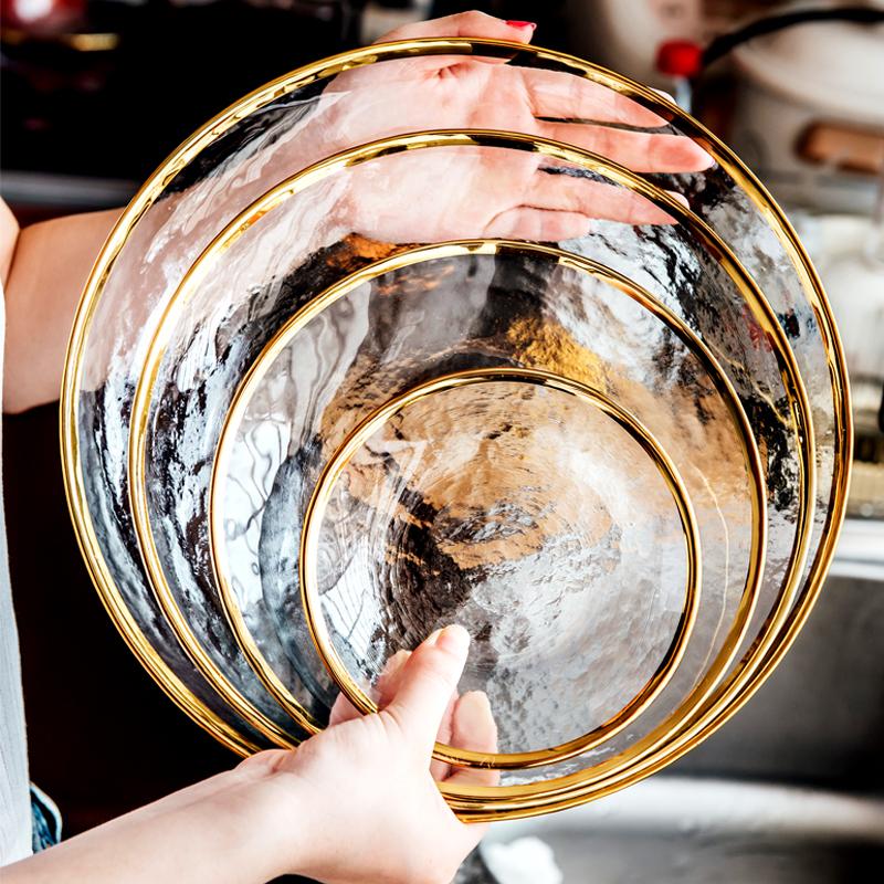 玻璃碟子 盘子 创意