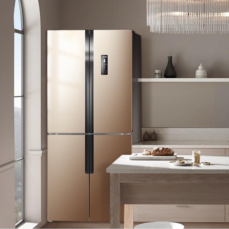 MeiLing/美菱 BCD-452WPUCX十字双开门家用电冰箱变频风冷四开门