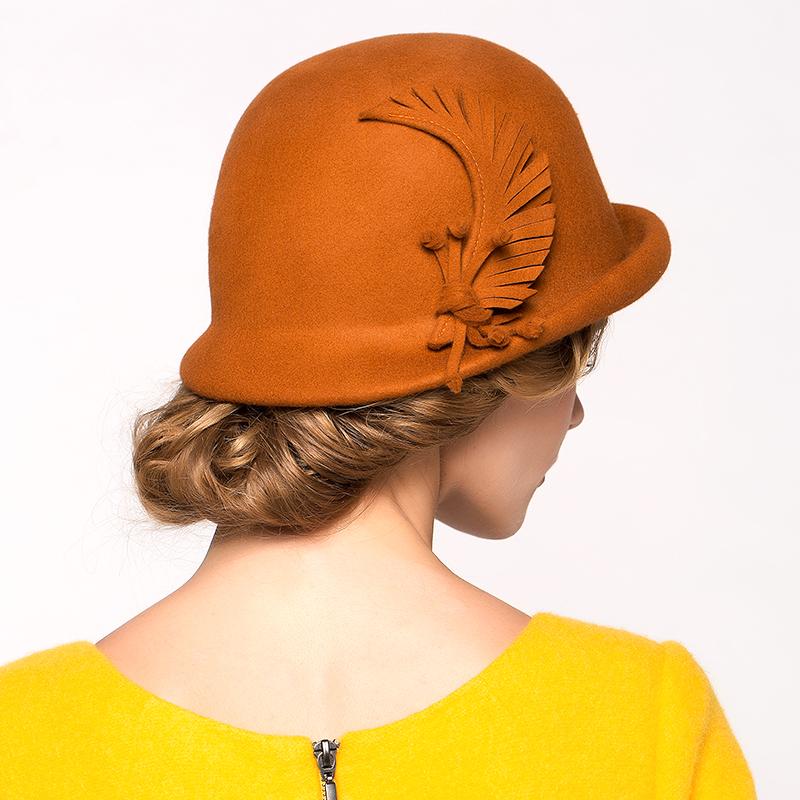 冬季女帽子优雅礼帽