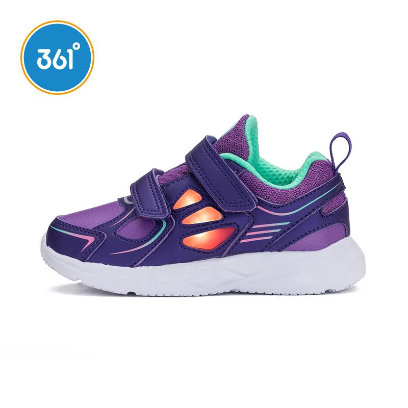 361女童鞋子兒童運動鞋小童跑步鞋春秋款輕便休閑361度K81814506