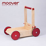 Danish moonover Nordic high-end children's toy walker trolley adjustable speed environmentally friendly wood color