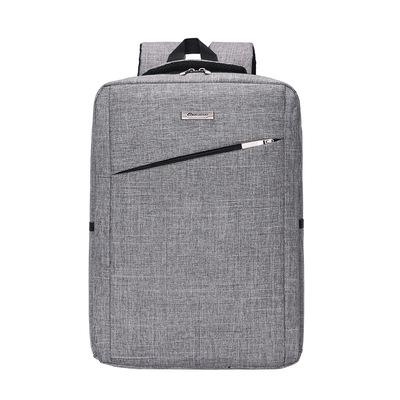 2018外贸新款帆布背包商务电脑包户外休闲双肩背包