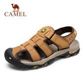 Camel/骆驼男鞋夏季户外休闲鞋子透气男士包头凉鞋