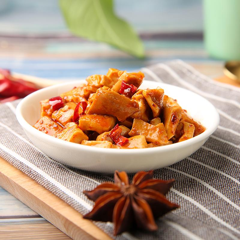 好巴食豆腐干2斤香辣豆干多口味小包装散装零食小吃辣条四川特产