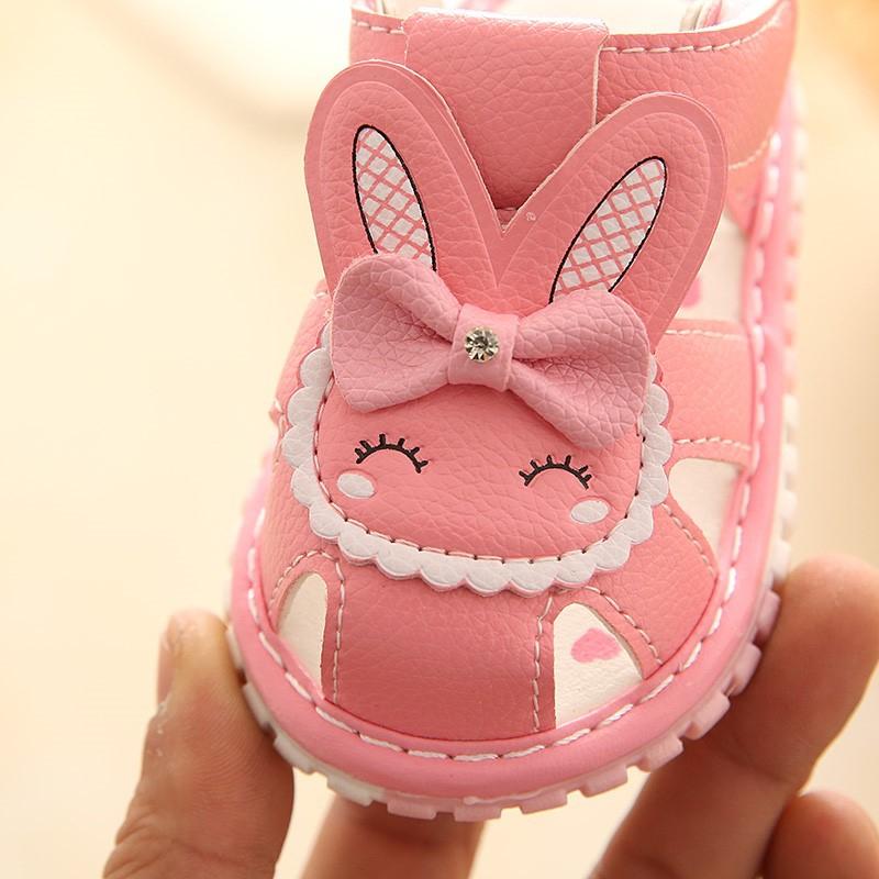 小女童公主学步鞋女宝宝软底婴儿鞋