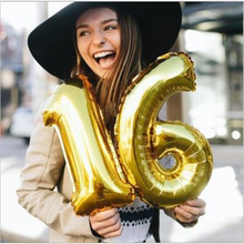 16inch Balloons Number 0-9 Party Birthday Decoration Balloon