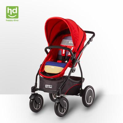 小龙哈彼婴儿推车LC798高景观四轮避震手推车双向可坐可躺bb童车