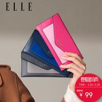 ELLE女包新款80111长款钱包信封多卡位钱包票夹复古时尚女