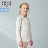 Teenie Weenie Kids Bear 2009 Spring Girl Cartoon Knitted Bottom Shirt TKLA91151K
