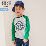 TeenieWeenieKids bear 2019 spring new children's clothing boy T-shirt TKLA91202A