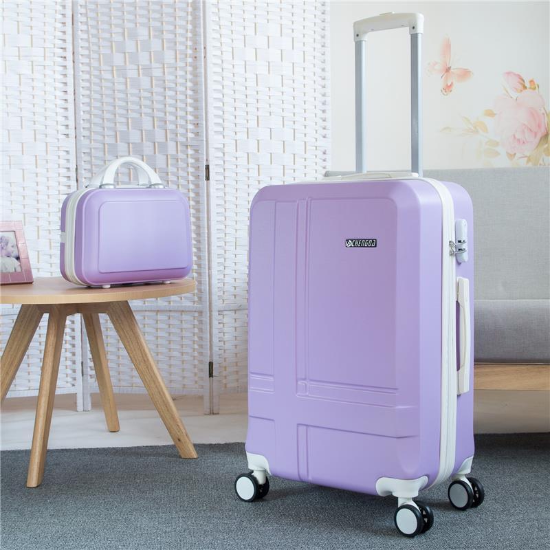 拉杆箱万向轮行李箱旅行箱包皮箱密码箱子20寸22寸24寸26学生男女